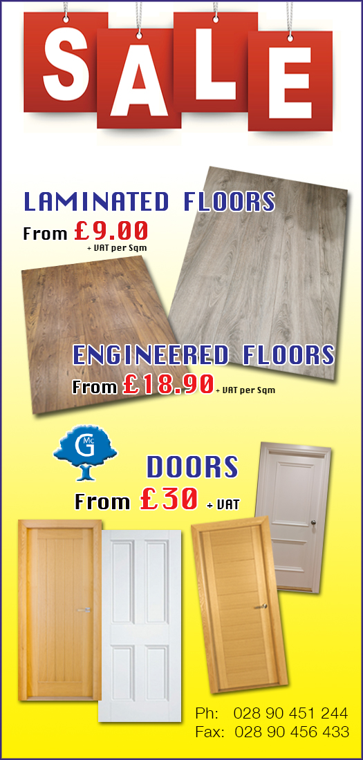 special offers at McGregor's Hardwood